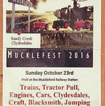 Muckleford Tractor Pull