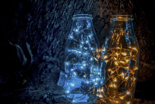 Lights in a bottle by Jeremy Robinson