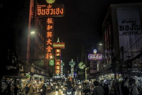 'Bangkok At Night' by Jeremy Robinson