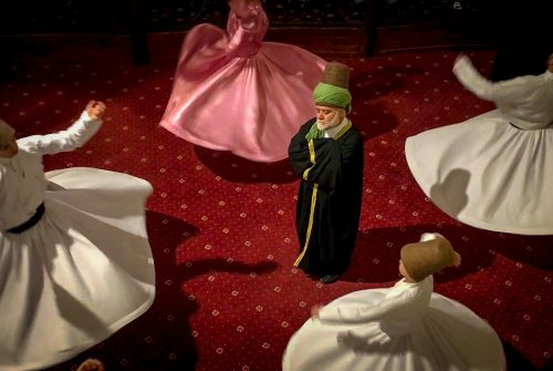 'Whirling Dervishes' by Esther Andrews