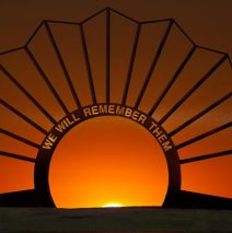 'Anzac Memorial At Sunrise' by Allan Davis