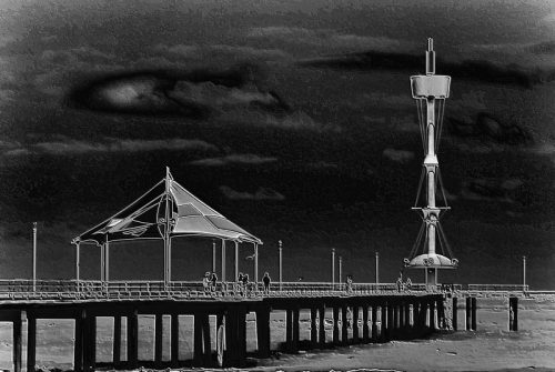 'Brighton Pier' by Val Densworth