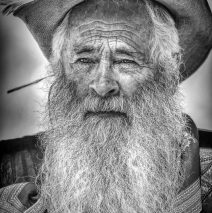 'Weathered Face' by Graeme Harvey – B&W Winner