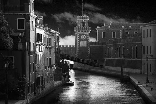 'Canal Gateway Venice' by Garry Paterson