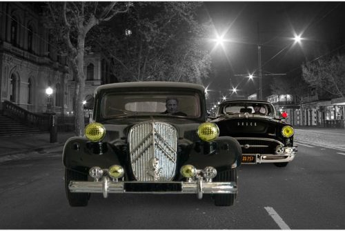 'Gangster Street Chase' by Norm Stimson Monthly Winning Entry