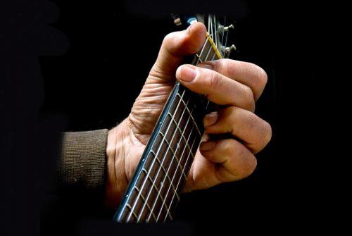'Guitar Man' by Brian Boyton