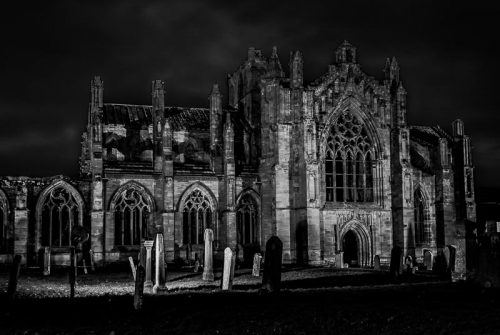 'Melrose Abbey' by Ann-Marie James