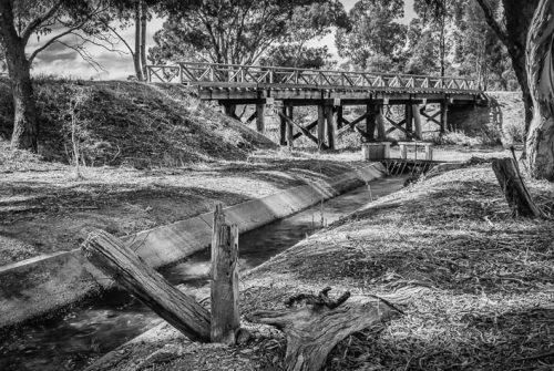 'Water Under The Bridge' by Mal Brayshaw