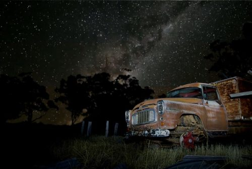 'Truck And Milky Way' by Brian Boyton