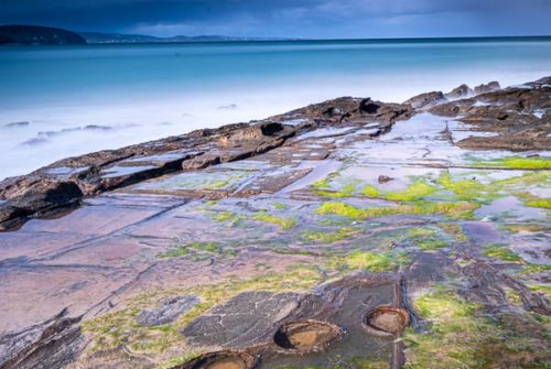 'Stormy Day At Lorne' by Matt Oliver