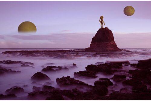 'Alien Planet' by Norm Stimson