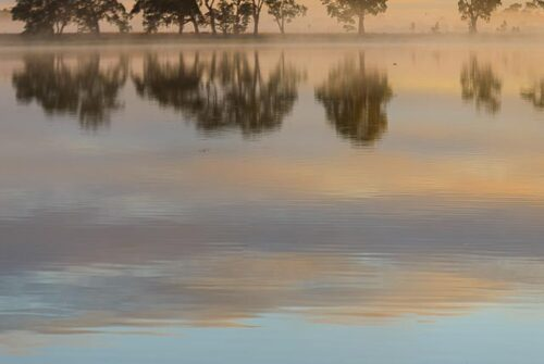 'Misty Reflections' by Brian Hinneberg