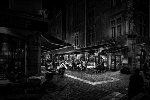 'Dinner In Lyon' by Graeme Harvey