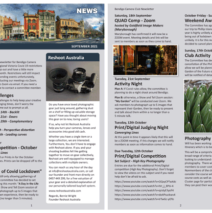 BCC Newsletter – September 2021