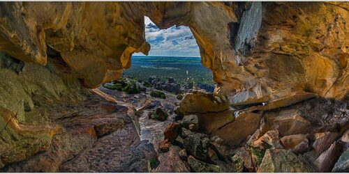 'Hollow Mountain Grampians' by Norm Stimson